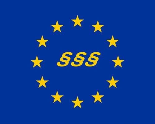 EU-Symbole Missbrauch - EU-Fahne Missbrauch