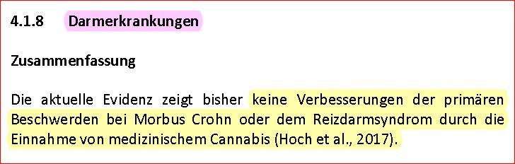 Cannabis Report 2018 4 Darmerkrankungen