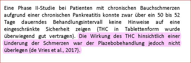 Cannabis Report 2018 5 Bauchschmerzen