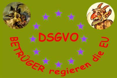 DSGVO - SPRUNGBRETT ZUM ILLEGALEN DATENHANDEL