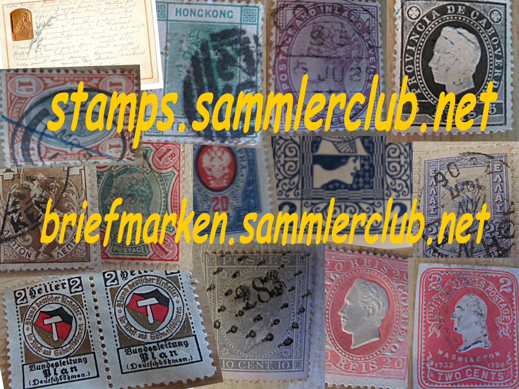 BRIEFMARKEN / STAMPS / SELLOS / FILATELIA / PHILATELIE SAMMLERCLUB