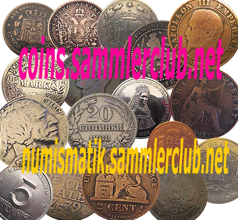 NUMISMATIK / COINS / SAMMLERCLUB